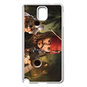Pirates of the Caribbean Samsung Galaxy Note 3 Cell Phone Case White Cgbzc