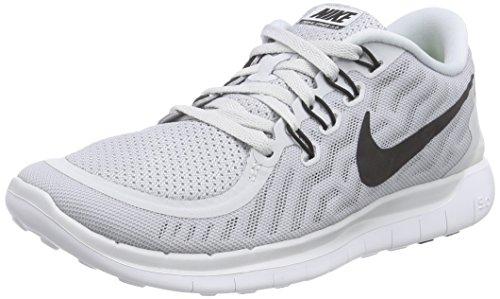 Nike Trail Shoes (Nike Womens Free 5.0 Running Shoes (Pure Platinum) Sz.)