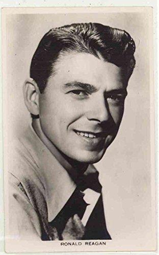 Young Actor Ronald Reagan - Vintage Real Photo (Vintage Real Photo Postcard)