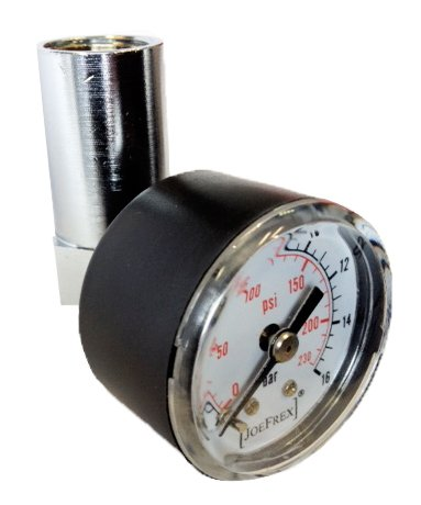 Portafilter Pressure Gauge Check Kit by [JOEFREX]