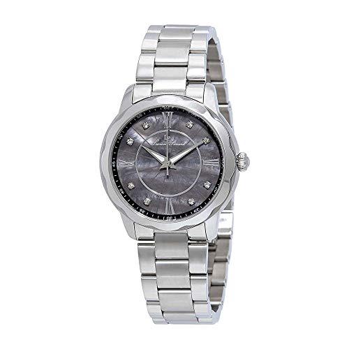 Lucien Piccard Women's 'Balarina' Quartz Stainless Steel Casual Watch (Model: LP-40000-11MOP) (Lucien Piccard White Wrist Watch)