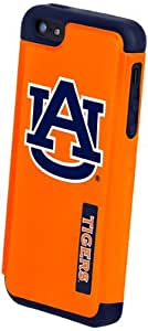 Forever Collectibles NCAA Auburn Tigers Dual Hybrid Hard Apple iPhone 5 / 5S Case