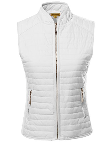 Quilted Down Vest - 5