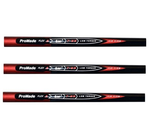 Pro-Taylor-Fit-NANO-Made-PGA-Tour-65-Gram-Graphite-Golf-Iron-Shafts-L-A-R-or-S-FLEX