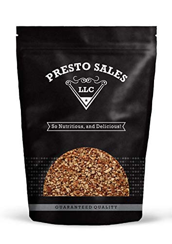 "Pecans, Fancy ""Crispy and Fresh"" Raw Small Pieces (5 lbs.) by Presto Sales LLC"