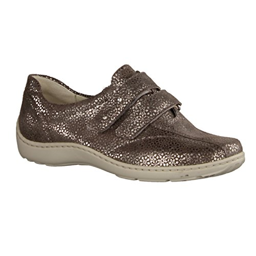 5 Tago 230 7 Henni Taupe Nubuck Waldlaufer UK Shoes 117 Womens Velcro 496301 q6Fn7xUwn
