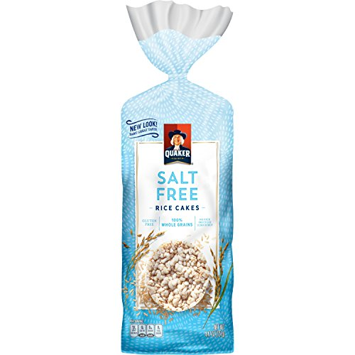 Quaker Rice Cakes, Salt Free, 4.5 Ounce