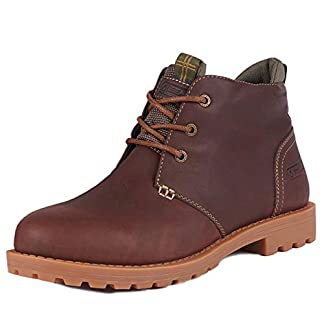 Barbour Mens Pennine Chukka Boot Walking Countryside Hiker Ankle Boots - Hickory 9