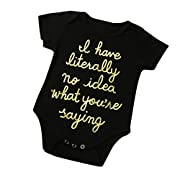 Baby Clothes,Efaster  i have literally no idea what you're saying Toddler Romper (3M)