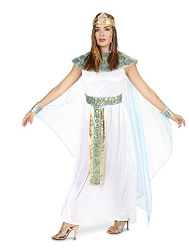 Pharaoh's Queen Adult Costume 1X White