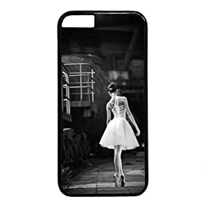 """Beautiful Ballet Dancer Theme Case for iPhone 6(4.7"""") PC Material Black"""