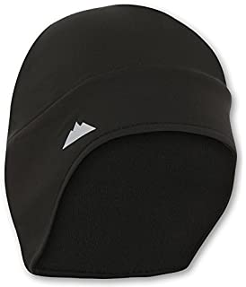 c2e0bdb55e9 Helmet Liner Skull Cap Beanie with Ear Covers. Ultimate Thermal Retention  and Performance Moisture Wicking. Fits Under…