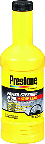 Prestone Pack of 1 AS262 Power Steering Fluid with Stop Leak-12 oz