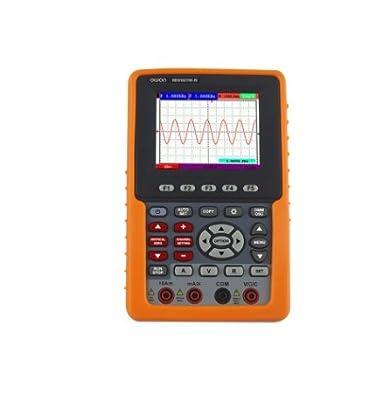 OWONHDS1021M-NHandheld Digital Storage Oscilloscope, Digital Multimeter,Bandwidth:20MHz,Sample Rate (real time ):500MS/s,Trigger Type:Edge, and Video