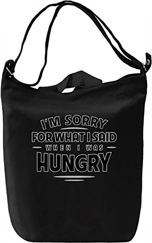 Don't Count On Me When I'm Hungry Borsa Giornaliera Canvas Canvas Day Bag| 100% Premium Cotton Canvas| DTG Printing|