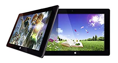 "10"" Windows 10 Fusion5 Ultra Slim Windows Tablet PC- (4GB RAM, USB 3.0, Intel, 5MP and 2MP Cameras, Windows 10 S Tablet PC)"
