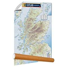 Malt Whisky Map of Scotland (rolled)