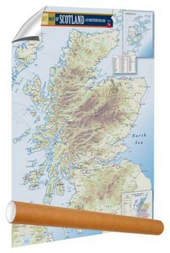 The Malt Whisky Map of Scotland and Northern ()
