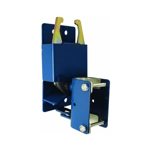 SpeeCo 16100100 Two-Way Lockable Gate Latch; Helps To Prevent Gate End Sagging and Swinging; Fits Round Tube Gates; Designed To Accept a Padlock; 1 Hand Operations and Easy Installation