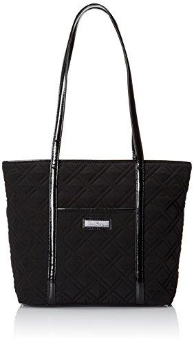 - Vera Bradley Women's Small Trimmed Vera 3, Classic Black, One Size