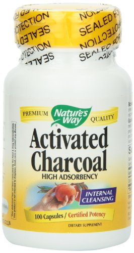 Nature's Way Activated Charcoal, 100 Capsules, Health Care Stuffs