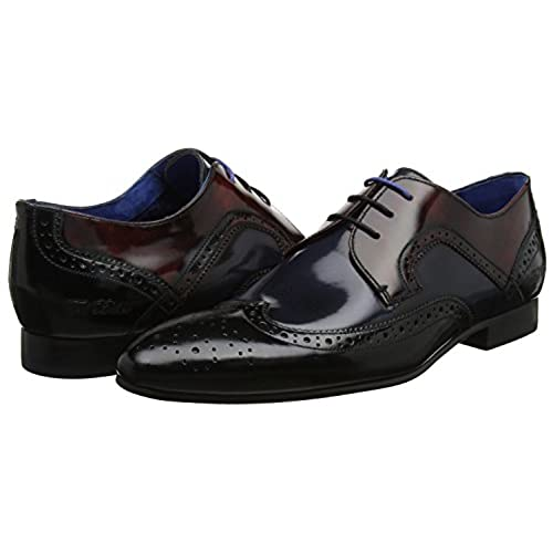 423100692f21 durable service Ted Baker Oakke Derby Multi High Shine Mens Brogues.  Leather ...