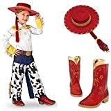 Disney Store Toy Story 3 Jessie Red Boots Kids 7/8 & Costume Hat