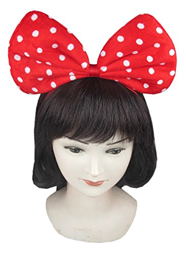 Shop72 - Polka Dot Extra Large Bow Headband - Mickey and Mini Mouse Styles Headbands. Great for Costumes