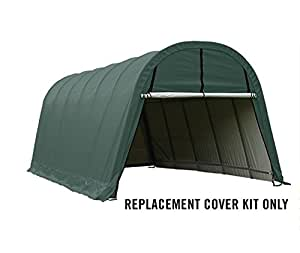 ShelterLogic Replacement Cover Kit 13x24x10 804547 (14.5o PVC Green)
