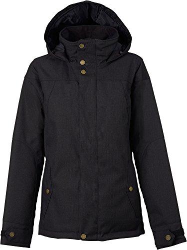 Field Shell Snowboard Pant (Burton Women's Jet Set Jacket, True Black, Medium)