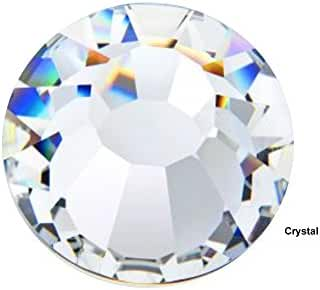 Preciosa Genuine Czech Crystals, 1440pcs in size ss16 (4 mm), Crystal, Viva Chaton Roses (Viva12 MC Rhinestone Flatbacks), clear, 16ss