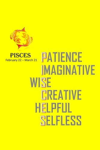 Download Pisces Horoscope Sign Notebook: Pisces Astrology Journal 2018 - Zodiac Sign Notebook (Horoscope Sign 6x9 Journal, Gift Notebook, Astrology Notebook, Inspirational Journal, Cool Gift) pdf epub