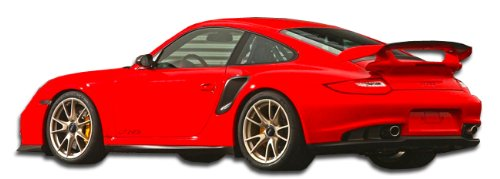 997 Body - Duraflex ED-EJF-676 GT-2 Look Side Skirts Rocker Panels - 2 Piece Body Kit - Compatible For Porsche 997 2005-2012