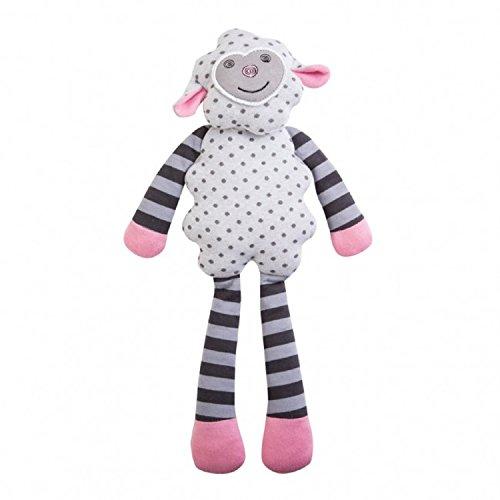 Organic Dreamy Sheep 14 Inch Plush Toy by Apple Park by Organic Farm Buddies