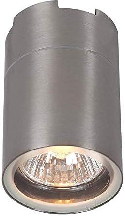 Luminaria de Techo LED 7W de Acero Lámpara para Montar Gris ...