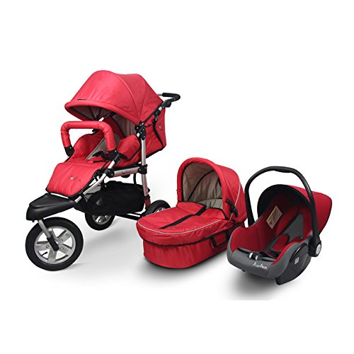 3 In 1 Pram Pushchair Car Seat - 3