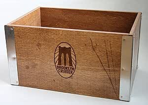 Brooklyn Cruiser Handcrafted Wooden Bike Crate from