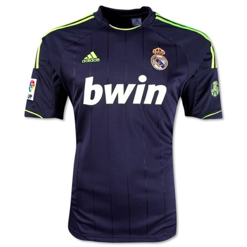 adidas Real Madrid Away Jersey 2012-13 (XL) Black
