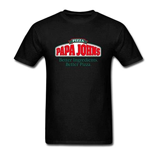 Zenobian Men's PaPa Johns Logo T Shirt
