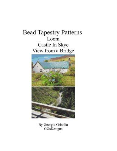 Bead Tapestry patterns loom castle in skye view from a bridge