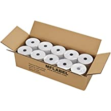 MFLABEL 10 Rolls Thermal Receipt Paper Rolls 3-1/8 x 230ft