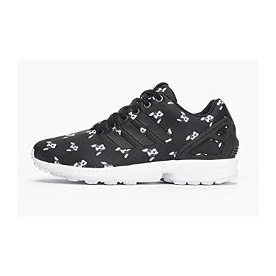 Adidas Negro Zapatillas Originals Sneakers Flux Mujer Para W Zx aqPvFa