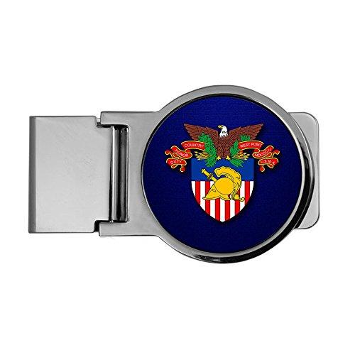 ExpressItBest Premium Money Clip - US Military Academy (USMA) COA
