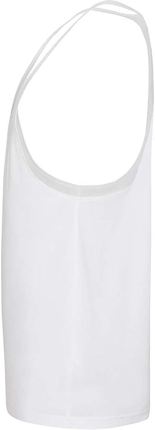 DK ACTIVE WEAR Camiseta sin mangas para hombre espalda cruzada
