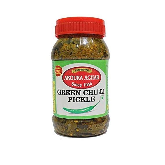 Aroura Achar Since 1944 Green Chilli Pickle (400 g)