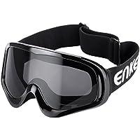 ENKEEO Motorcycle Goggles ATV Dirt Bike Off Road Racing...
