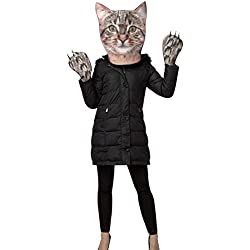 Rasta Imposta Women's Kitty Kit Head and Paws, Gray, One Size