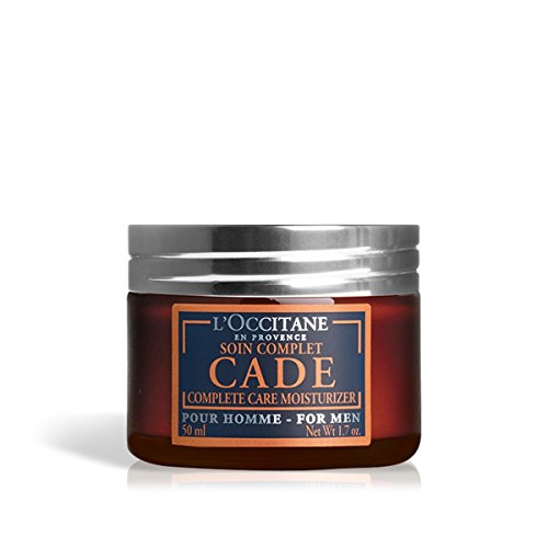 L'Occitane Moisturizing Cade Face Cream Enriched with Essential Oils for Men, 1.7 oz.