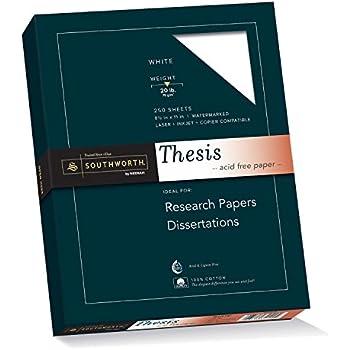 Cotton paper dissertation