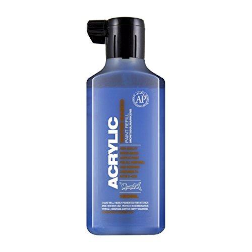 Montana Acrylic Marker Ink Refills, 180ml Bottle, Shock Blue (045459)